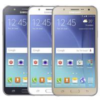 Original Samsung Relevado Galáxia J7 J700F Dual SIM 5.5 polegadas Tela LCD OCTA CORE 16GB ROM 4G LTE desbloqueado Telefone DHL 30 pcs