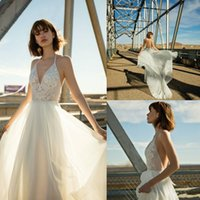 Flora Bridal 2019 Wedding Dresses Beach With Chiffon A Line ...