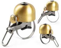 campana suono classico anello di Corno di sicurezza in bicicletta buona qualità libera il trasporto di lega di rame Vintage Bicycle Bell Road ciclista
