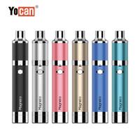Auténtico Yocan Magneto Kit versión 1100mAh Batería Conexión magnética Tool DAB Herramienta de silicona incorporada Tarro de silicona Cerámica Bobina Cera Vape Pen