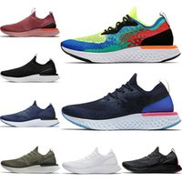 Sports Luxo Knit épico Reagir Running Shoes Womens Mens FK v1 v2 Bélgica Royal Green Olive preto branco Plum pó de estanho preto Trainers Grey