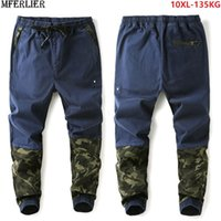 men Harem pants Camouflage patchwork hipster personality sop...