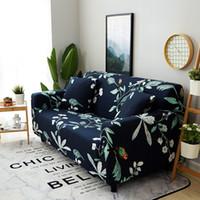 Fodera per divano Flower Stretch elasticizzato Big Elasticity Couch Cover Divano Funiture Single Two Three Fourts Soft Slipcover