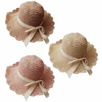 6395fb09 Handmade Weave 100%Raffia Sun Hats For Women Black Ribbon Lace Up Large  Brim Straw Hat Outdoor Beach Summer Caps Chapeu Feminino. US $5.30 / Piece.  New ...