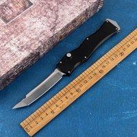 새로운 고품질의 자동 칼 포켓 D2 블레이드 알루미늄 합금 핸들 전술 자기 방어 EDC 선물 봄 도구 나이프