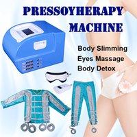3 в 1 прессотерапия машина лимфодренажный массаж целлюлит похудение Снижение тела избавиться от токсинов домашнего использования