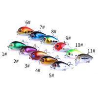 Nieuwe Crank Hard Vissen Lokjes 3 cm 1,5 g 10 # Haken Hard Aas Stick Aas Japanse Lokt Duikdiepte: 0.1-0.2m 30pcs Gratis verzending