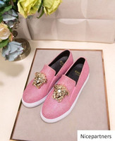 duping520 Pink Increase seasons shoes Men Dress Shoes Moccas...