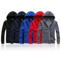 Mens Polo Hoodies e Moletons Outono Inverno Casuais com Um Capuz Jaqueta Esporte Hoodies dos homens New Hot Sale Designer Men Jaqueta