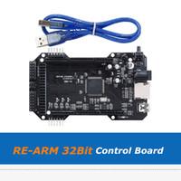 1pc pièces d'imprimante 3D clonées carte mère RE-ARM 32-Bit de mise à niveau carte mère Mega 2560 R3 pour les cartes mères Ramps 1.6 / 1.5 / 1.4