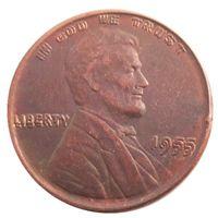 UNS ein Cent 1955 Doppel Sterben Penny Kupfer Kopie Münzen Metall Handwerk stirbt Herstellung Fabrik Preis