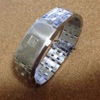 Hohe Qualität 19mm 20mm PRC200 T17 T461 T014430 T014410 Armband Uhr Teile männlich Massivstreifen Edelstahl Armbänder Riemen LY191206