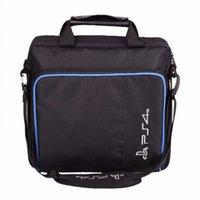 Nuovo caldo di vendita per dimensioni PS4 / PS4 Pro Slim gioco Sytem sacchetto originale per PlayStation 4 Console Protect tracolla della borsa di caso della tela di canapa