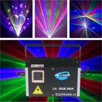 2W аналоговые 45 кплс RGB высочайшее качество и хорошая цена мини-лазерное освещение открытый рождественский диско освещенности