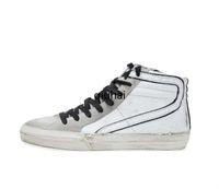 نجم ستار منتصف هايت الأعلى أحذية رياضية أحذية جلدية حقيقية الرجال والقذرة الرياضية الاحذية النساء البيض الكلاسيكية الرجعية إفعل القديمة