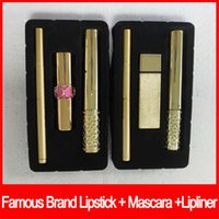 Famous Y brand makeup Lipstick Mascara Black Mascara 3 in 1 ...