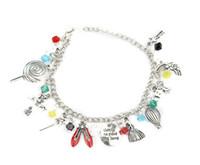 S1042 Hot Fashion Jewelry Simple Charm Bracelet Blaces Blaze Dance Shoes Bracciale combinazione Braccialetto combinato