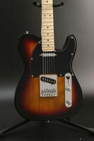 ذات جودة عالية 6 سلسلة TL الغيتار الكهربائي، لون الغروب، الزيزفون الجسم القيقب الأصابع، وعرض الصورة الحقيقية، وحرية الملاحة!