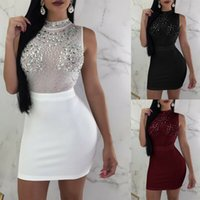 Sexy Women Ladies Bandage Bodycon Sleeveless Dress Evening P...