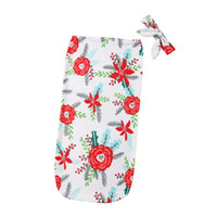 2019 Hot Floral Cotton Newborn Baby Infant Floral Swaddle Wr...