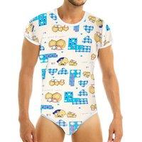 Abdl Bezi Lover Yetişkin Bodysuit Yetişkin Bebek Sissy DDLG / abdl Giyim Onesie çekin Kasık Romper Pijama CX200622