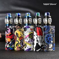 Genuine Vapor Storm ECO Pro Hawk Tank Electronic Cigarette Vape Mod Kit Fashion Graffiti Box Mods Max 90W for 18650 Battery ABS Kits
