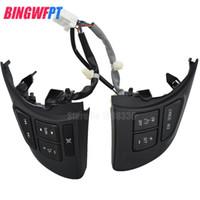 Volante multifunções interruptor de volume de áudio Cruise Control Button Switch Para Mazda 3 Atenza Axela CX5