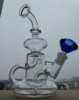 Bong! Nuevo tubo de vidrio bong Birdcage PERC Matrix coche lateral de vidrio grueso conjunta pipas de fumar 14.4mm