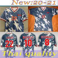 1994 كأس العالم الكلاسيكية الولايات المتحدة الأمريكية قميص الرجعية لكرة القدم الفانيلة weglearle lalas ramos balboa 94 الولايات المتحدة الأمريكية قمصان كرة القدم الكلاسيكية