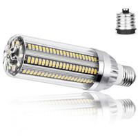 High Power Corn Light E27 светодиодные лампы 25W 35W 50W свечи лампы 110V E26 Светодиодные лампы Алюминиевый вентилятор охлаждения Нет Flicker Light 2835