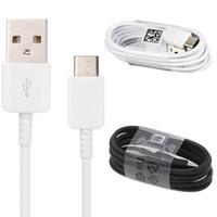 Originale OEM 1.2m Tipo C Cavo USB Cavo USB Sync Sync ad alta velocità Cavo di carica veloce per Samsung S8 S9 S10 Nota9 Huawei P30 Xiaomi HTC LG G5