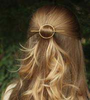 Геометрические Овальные Шпильки для волос Стик Вилки Винтажных Простого BOHO зажимы волос девушок женщин Аксессуары для волос для Свадеб Бича Jewelry