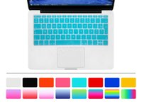 HRH AZERTY French UK Silicone Keyboard Cover Skin for MacBoo...