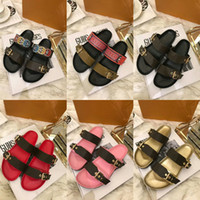 Hot Sale- rsandals women fashion designer shoes men genuine l...