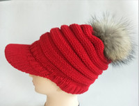 Hot Sales In 2019 Autumn And Winter Knit Hat Lady Really Rac...