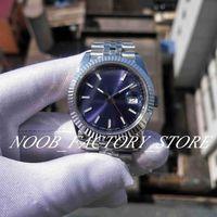 Super Fabrik Neue Fotografie 126334 V2 Jubiläum Armband BP 2813 Automatische Bewegung Saphirglas Blau Dial 41mm Männer Uhren