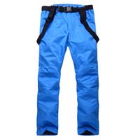 Recém-calças de esqui de neve à prova de vento quentes calças impermeáveis para compras Mulheres Homens Outdoor Inverno BF88 online