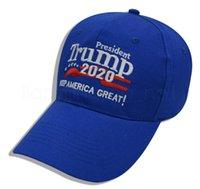 10styles رابحة رابحة قبعة البيسبول 2020 إبقاء أمريكا عظيم قبعة الشمس قابل للتعديل الصيف SNAPBACKS في الهواء الطلق قبعة FFA4073-5
