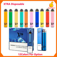 Pod Kit più nuovi dispositivo monouso Xtra Xtia 1500 soffi preriempita 5ml Cartridge potente batteria Vape penna VS Puff Bar XTRA PLUS