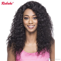 Afro Kinky Curly 360 Full Lace Human Hair Wigs Look Real Rab...