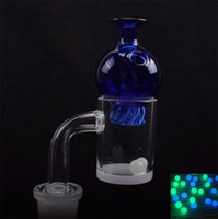 Quartz Banger With Glass Spinning Cap & Quartz Pearls 25mmOD...