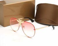 Uomo Nuovo vetro di marca di lusso delle donne degli occhiali da sole delle donne di alta qualità da sole rotondi occhiali da sole occhiali da sol mujer lunetta