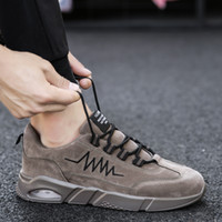 Wholesale 2020 Women Men Cushions designer shoes Black White Brown Leather Plaform Casual shoes sport sneakers Homemade brand Made in China