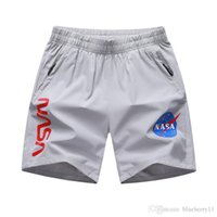 Mens Shorts NASA Lettre Imprimé Mens Beach Sports Shorts en vrac Grande Taille asiatique L-2020 8XL