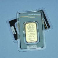 Argor-Heraeus SA Swizerland 1 унция Fine Gold 999,9 слитка