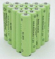 Alta Qualidade 36 PCS AAA 1.2V 600mAh Ni-MH bateria recarregável AAA bateria