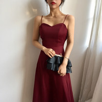 Beach Holiday High Quality Series Party Dress Sexy Spaghetti...