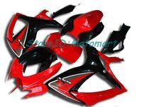 ABS Fairing set for SUZUKI GSXR600 750 2006 2007 GSXR 600 GSXR 750 K6 06 07 gloss black Fairings kit gifts Sp13