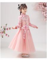 Linda2020 UB6.0 Noir / Multicolor Vêtements enfants bébé Robes de soirée pas DHLEMSAramex Christening Expédition Pour deux