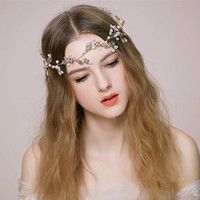 New Bridal Headbands With Pearls Crystals Rhinestones Flower...